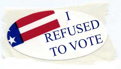 I Refused to Vote